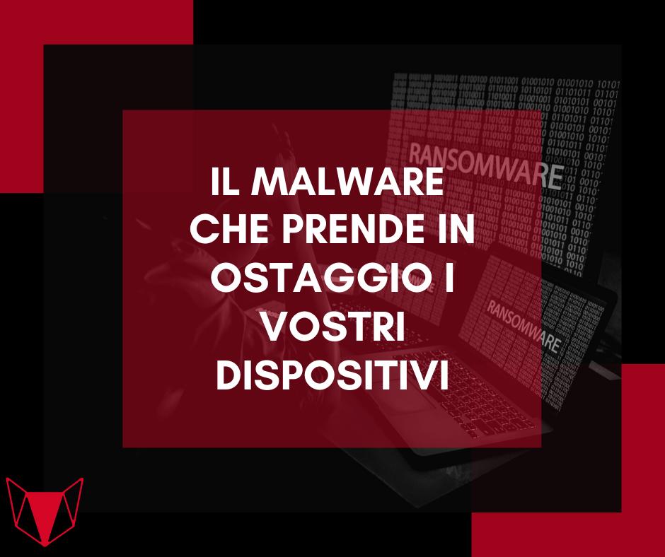 Ransomware assistenza informatica